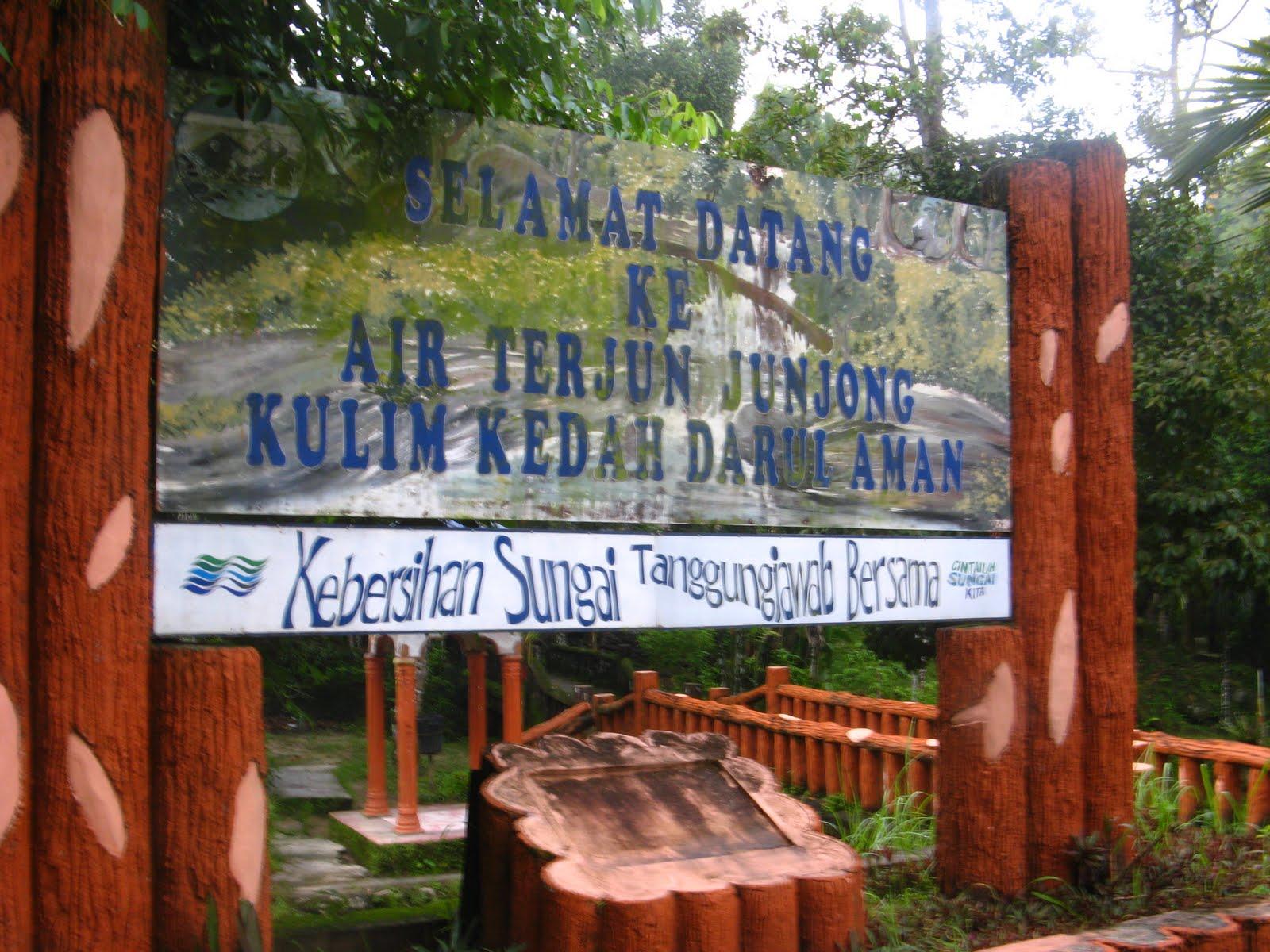 Air Terjun Junjong, Kulim ,Kedah Darul Aman