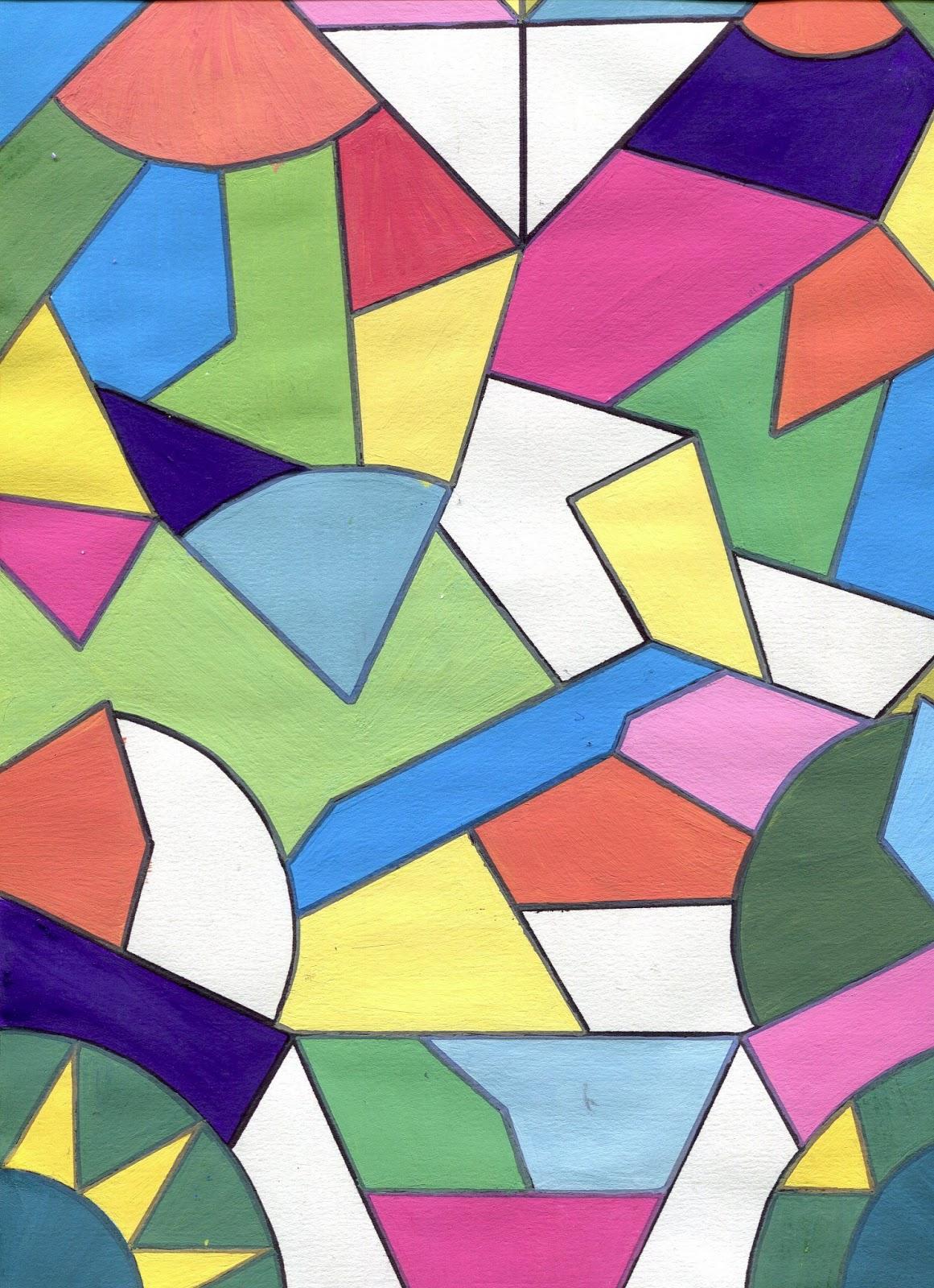 B33 suite abstraction lyrique et g om trique en classe de for Abstraction geometrique