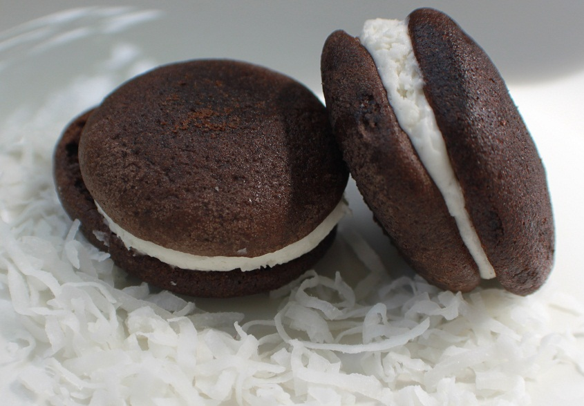 Chocolate Coconut Cream Whoopie Pie Recipe | What's Cookin ...