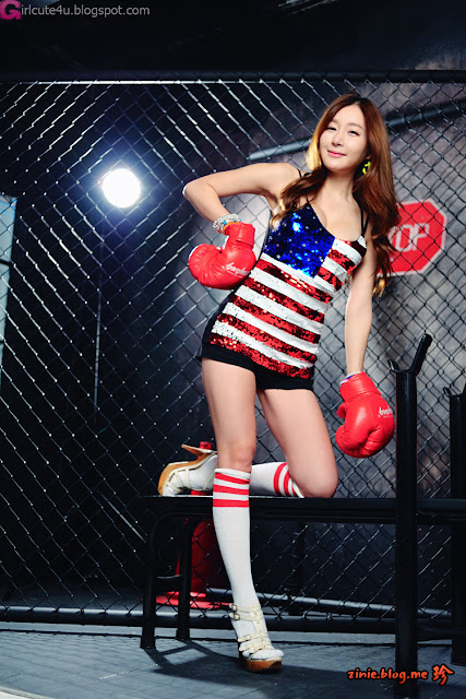 2 Han Ji Eun - The Fighter-Very cute asian girl - girlcute4u.blogspot.com