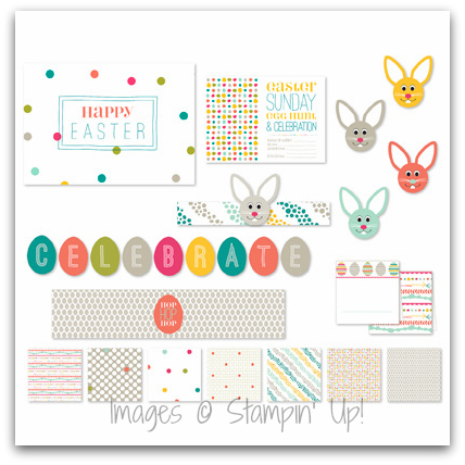 Stampin' Up! Celebrate Easter Digital Ensemble