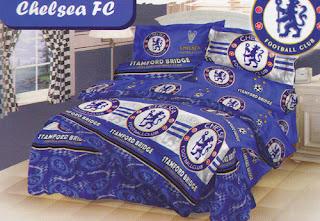 Sprei Love Story Chelsea FC