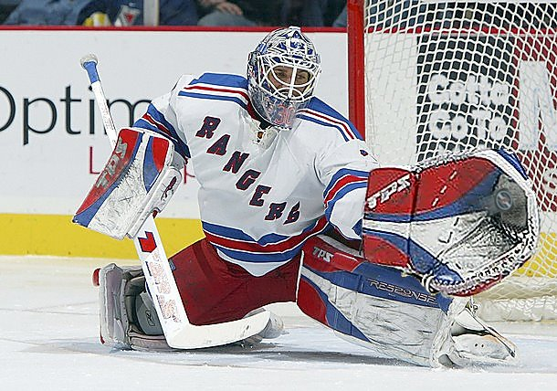 Henrik Lundqvist Has Had a Huge Glove This SeasonHenrik Lundqvist Glove Save