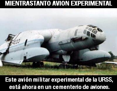 mientrastanto avion experimental