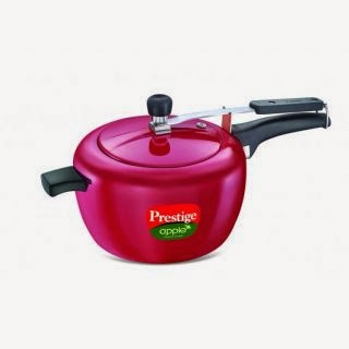 Prestige 3 ltr apple Pressure Cooker at Rs.665