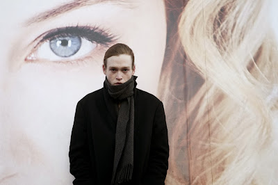 Caleb Landry Jones and Sarah Gadon in Antiviral