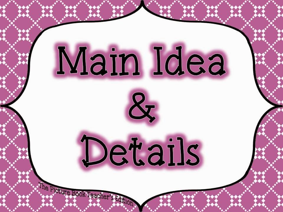 main idea in writing