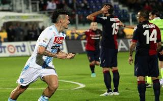 Prediksi Skor Pertandingan Napoli vs Pescara 2 Desember 2012 - Liga Italia
