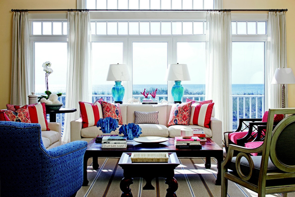 Interiors by alexa hampton for Hampton style interior decorating ideas