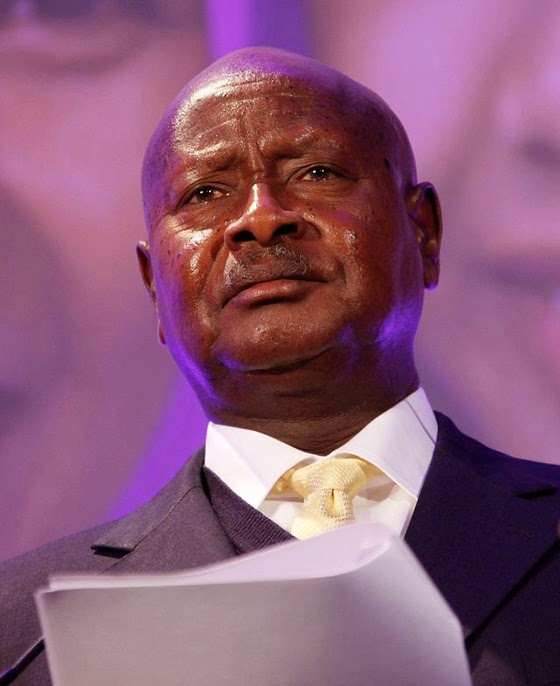 Uganda's president Yoweri Museveni. Photo released under  Creative Commons by Russell Watkins/Department for International  Development UK).