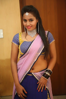 Actress Neetha Sizzling pics in half saree 019.JPG