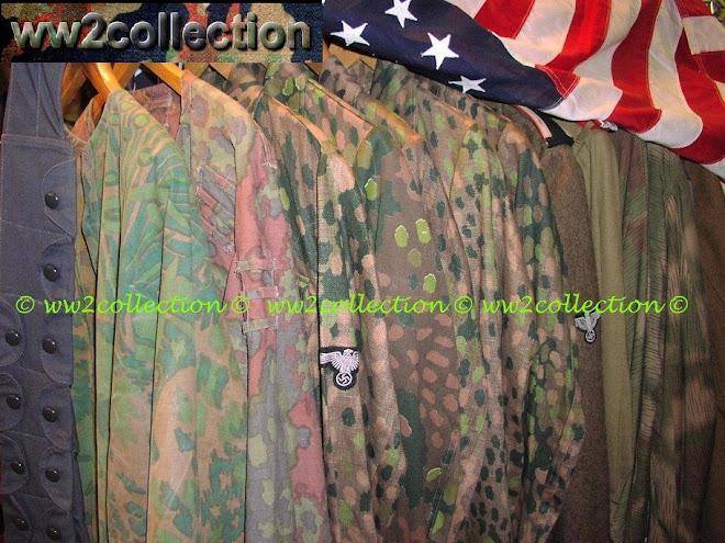 Waffen-SS Palmtree WW2 camo smock Palmenmuster and M44 Camo Uniforms