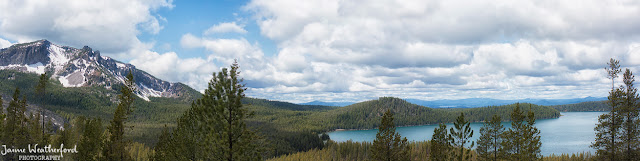 Newberry Crater volcano caldera hike Paulina lake Central Oregon alpine Oregon hike Little crater hike view Jaime Weatherford