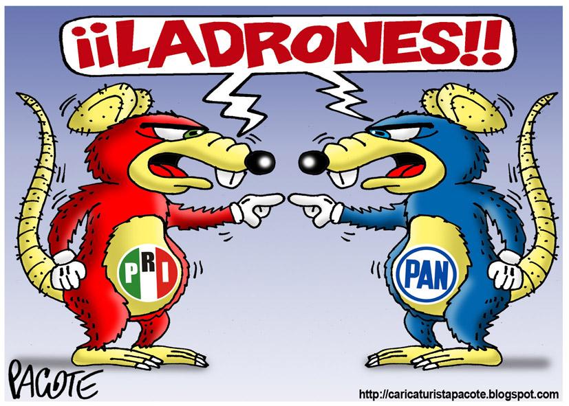 Resultado de imagen para TODOS RATAS POLITICAS MEXICANAS