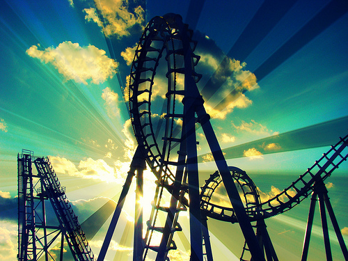 psychological effects of riding roller coasters How do you feel when you are having a roller the day after riding a lot of roller coasters of coasters with different physical and psychological effects.