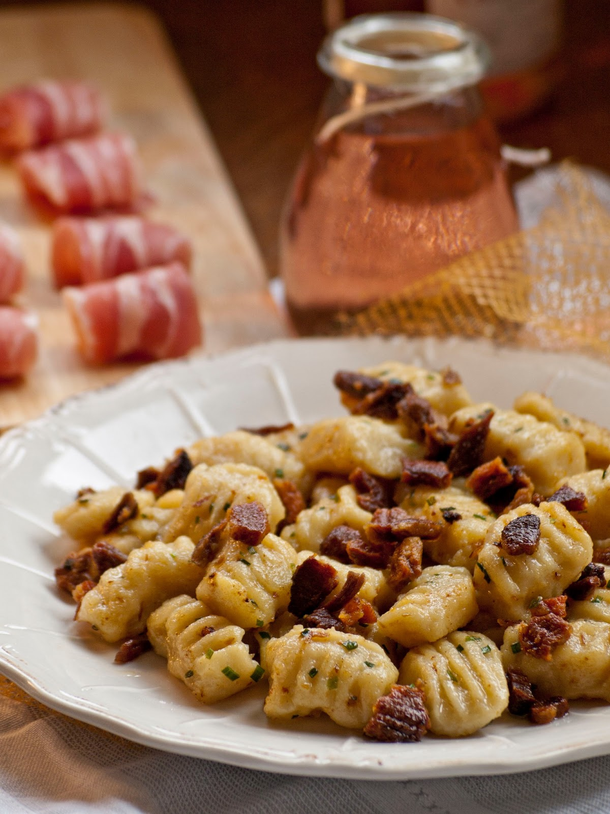 gnocchis maison au bacon grill blogs de cuisine. Black Bedroom Furniture Sets. Home Design Ideas