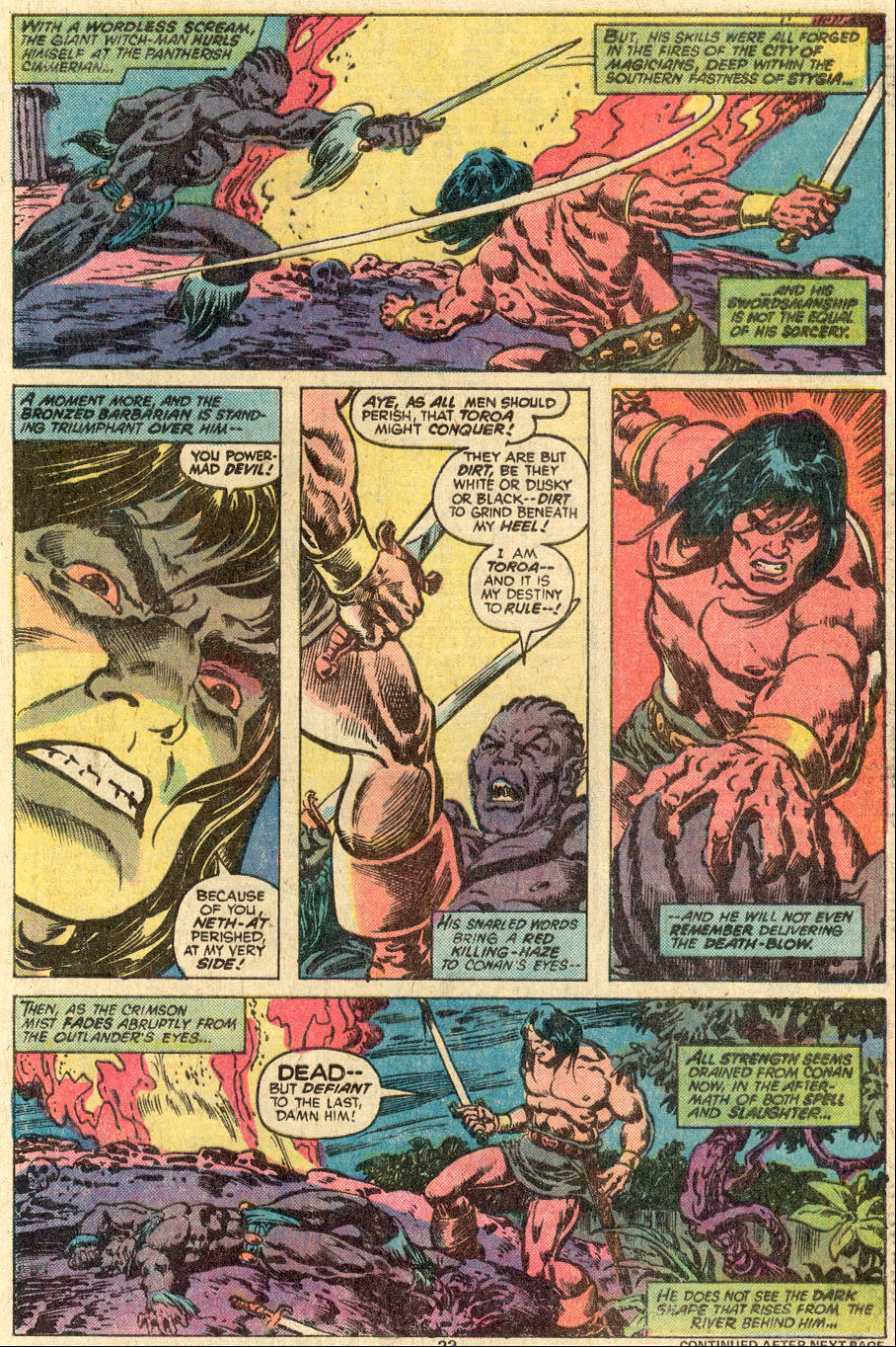 Conan the Barbarian (1970) Issue #83 #95 - English 16