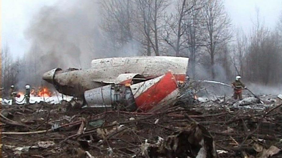 Польский самолет который разбился