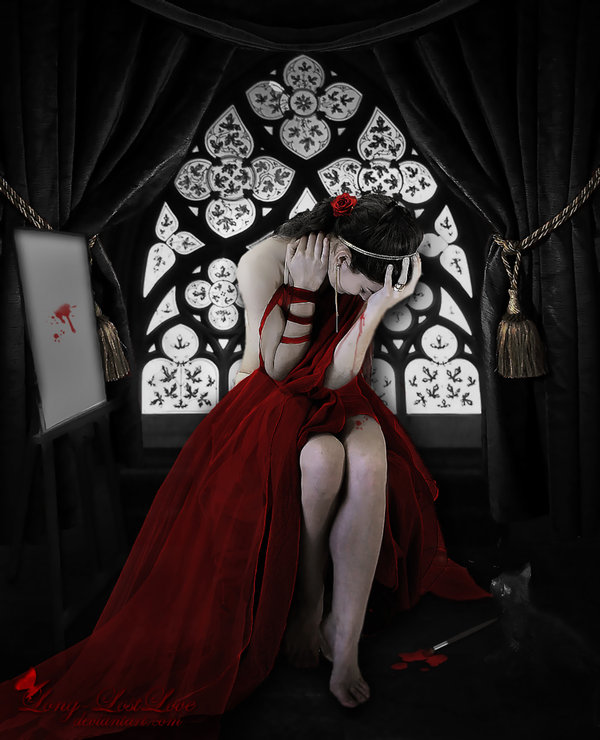 heart of artist by long lostlove d37b6od Masterful Examples of Dark Photo Manipulation Art