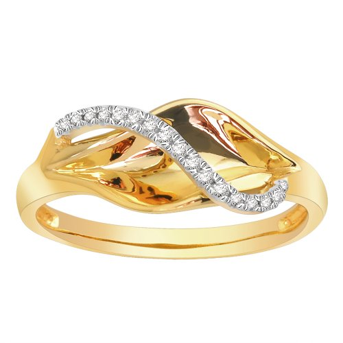 low price the 14k yellow gold fashion ring 0 08