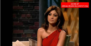 Shilpa Shetty in Red dress