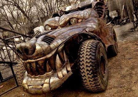 Carro Lobo - Wolf Car