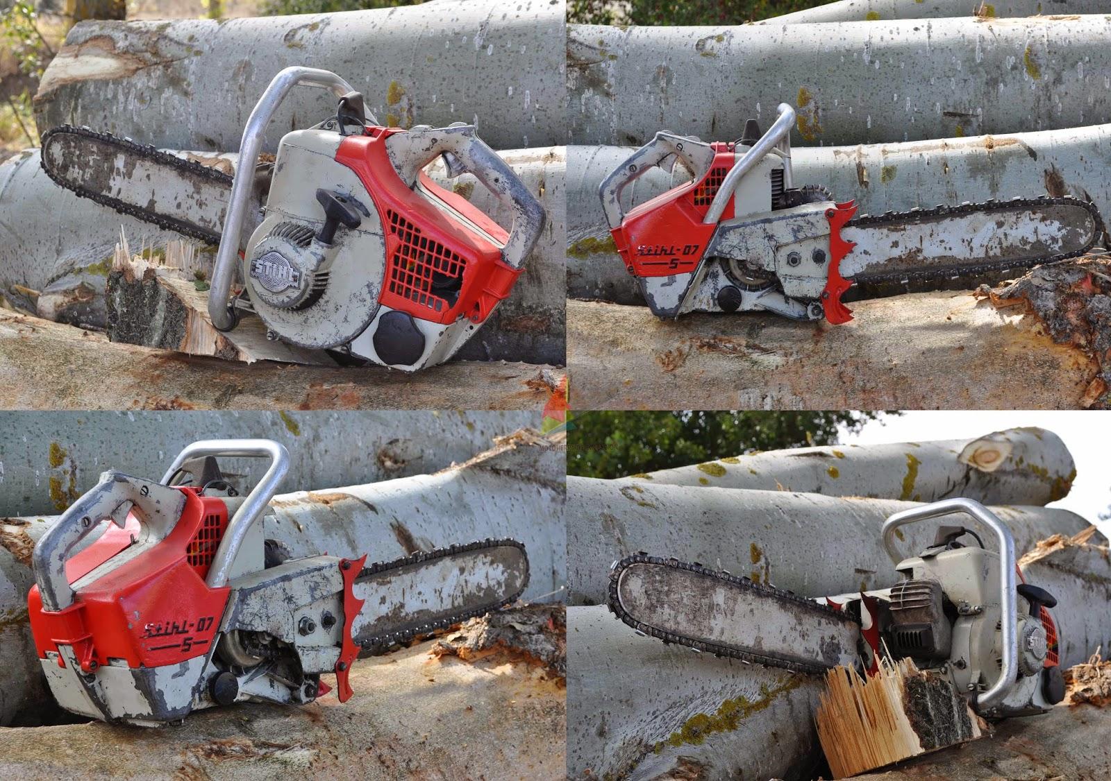 Vintage/Old Stihl Chainsaw - Motosierra Stihl Antigua