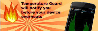 temperature guard android banner