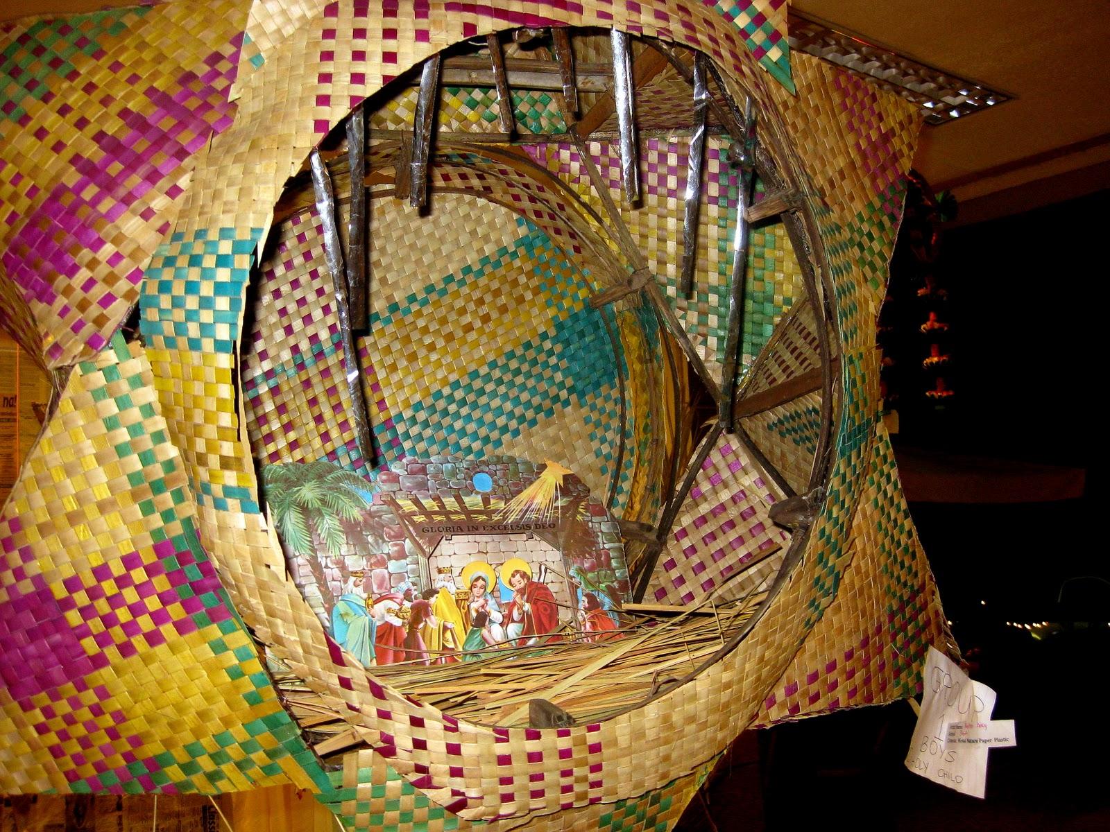 Turning boholano parol for Recycled paper lantern