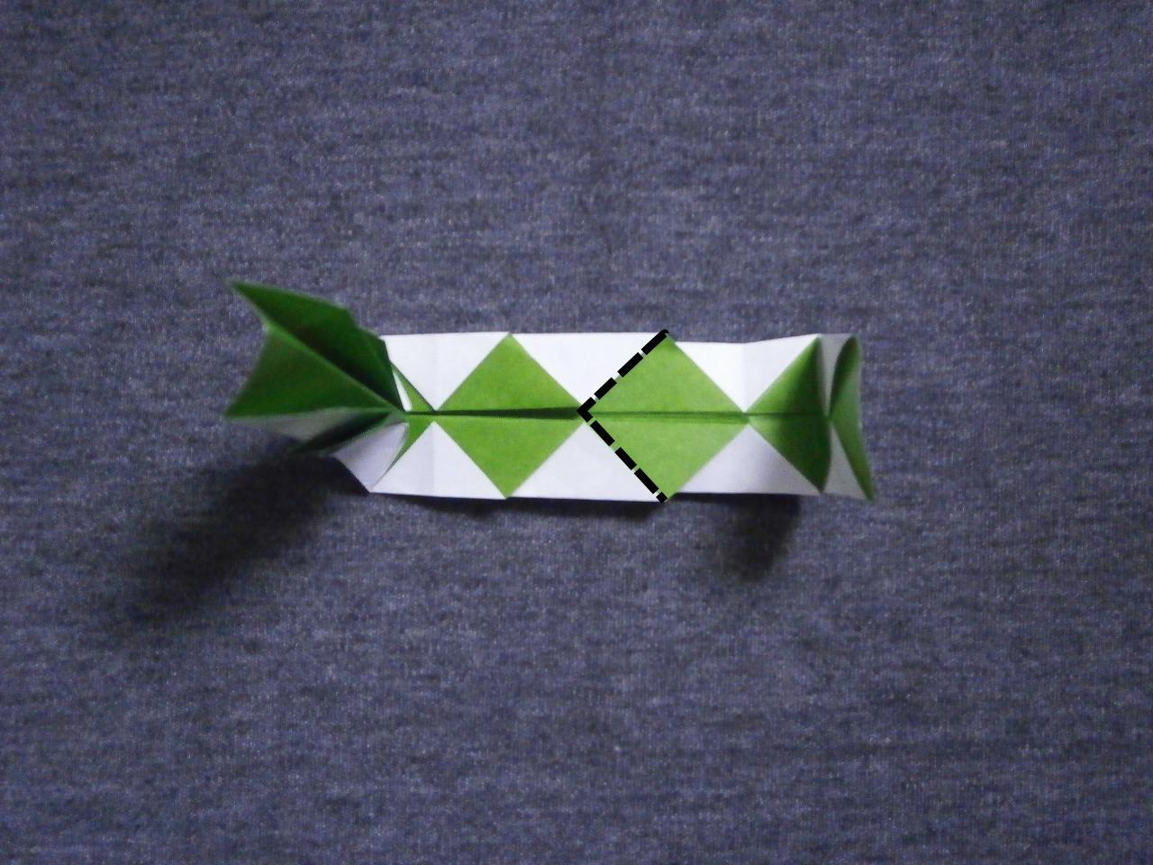 KATAKOTO ORIGAMI: How to fold an origami snake - photo#10
