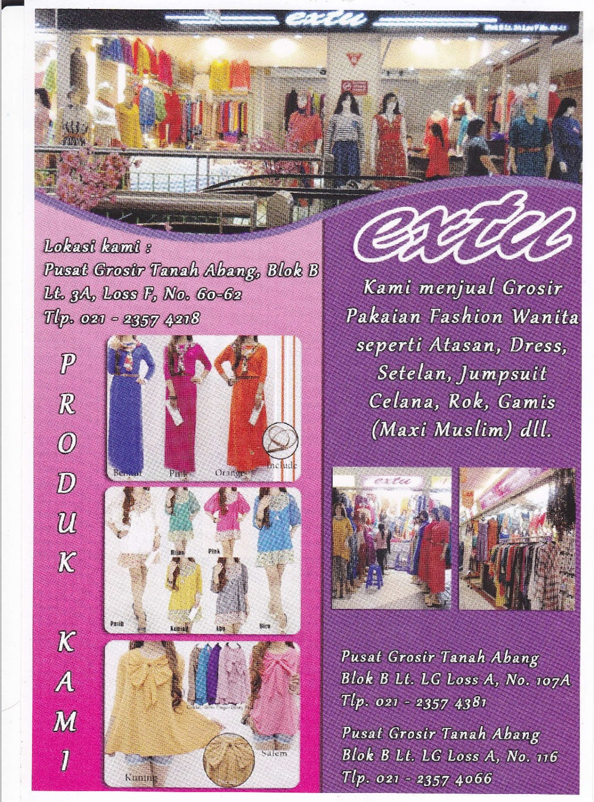 Extu Pakaian Fashion Wanita Jasa Sebar Brosur Obral Tekken Dress Molly Navy 1966a2f892