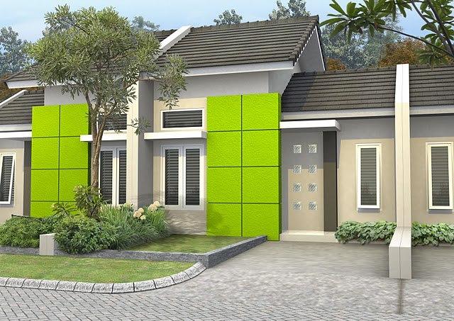 kombinasi warna cat rumah minimalis eksterior rumah