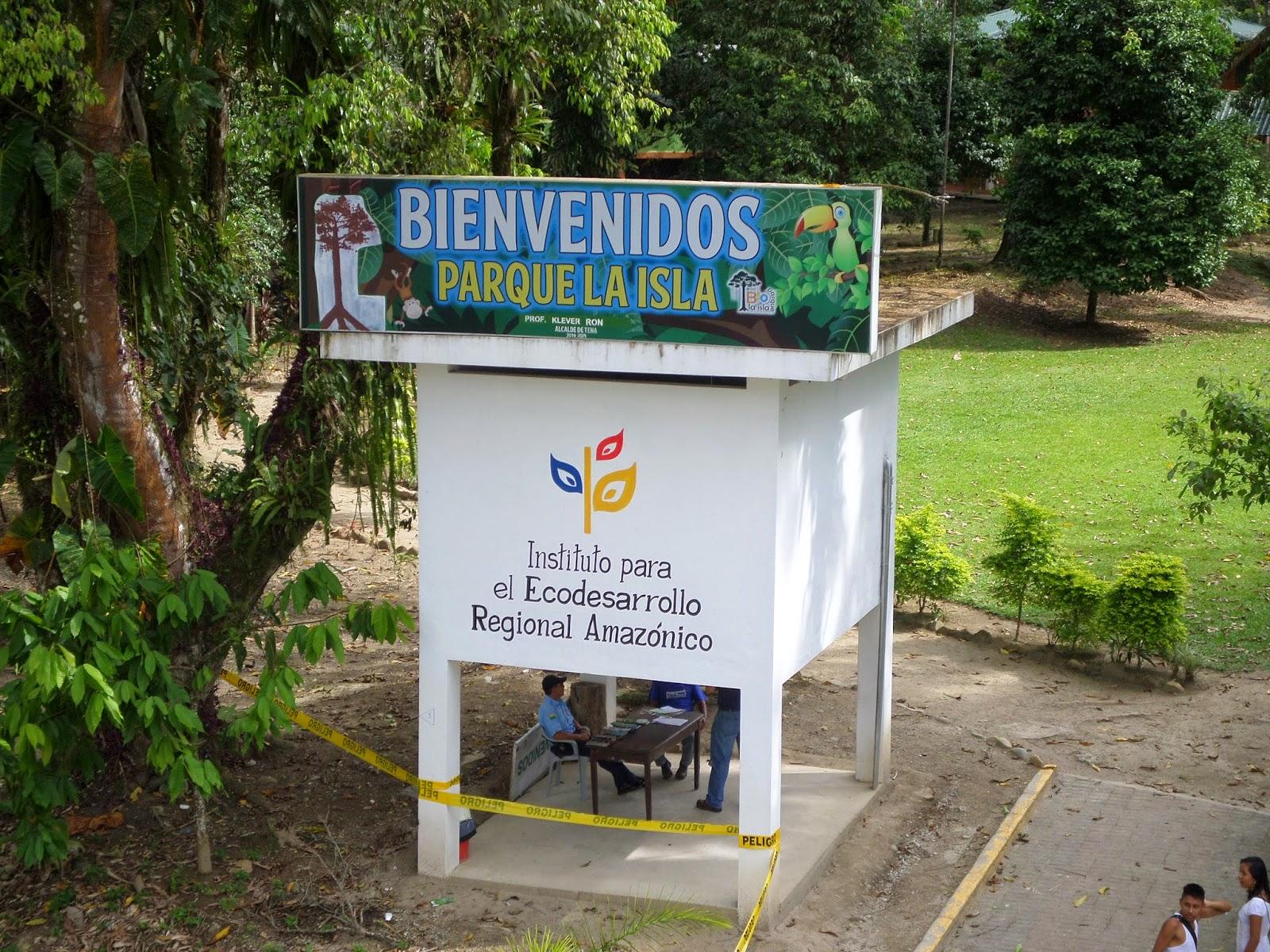 Resultado de imagen para Parque La Isla de Tena