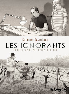 Comic strip cover : Les Ignorants (The Ignorants) by Etienne Davodeau