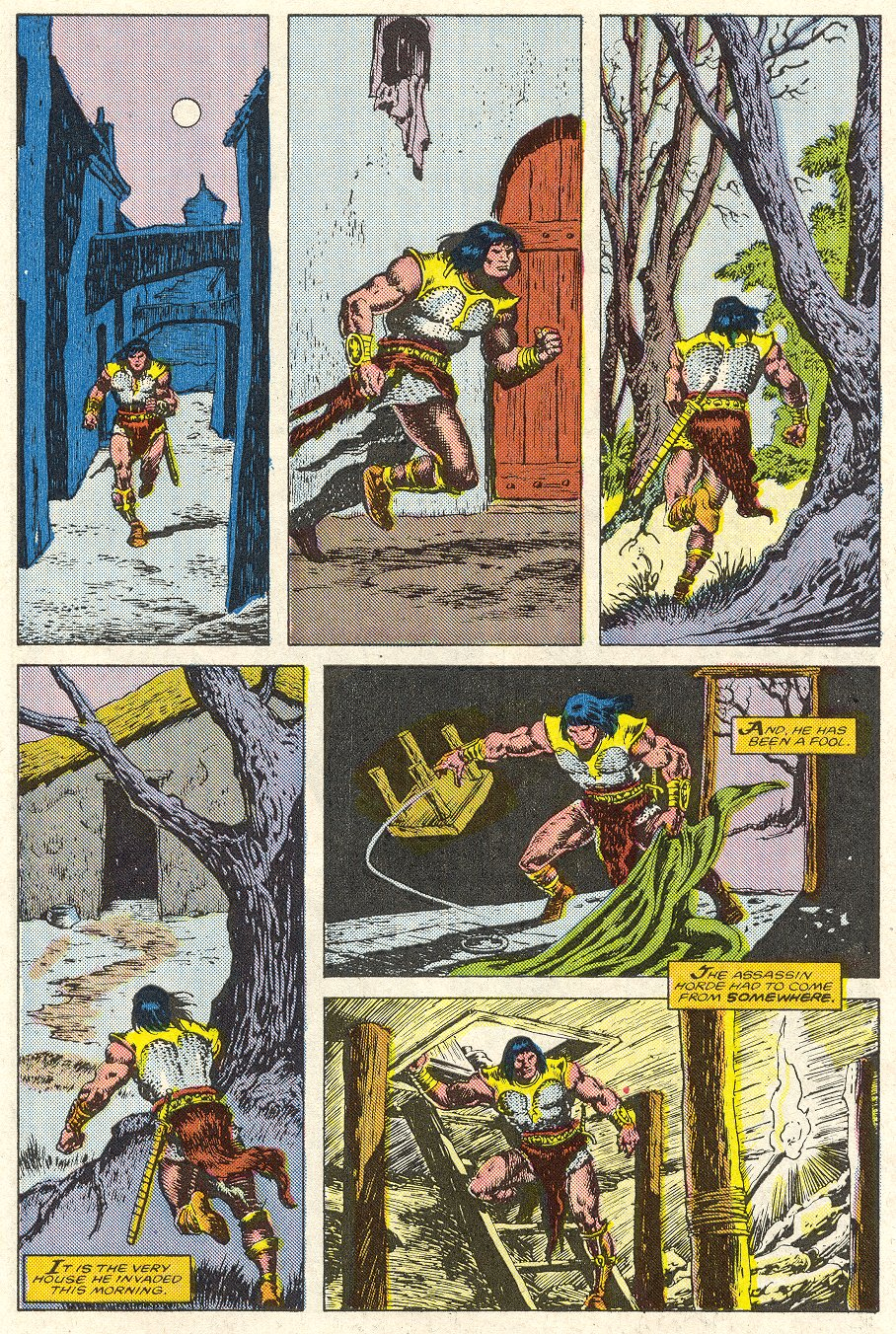 Conan the Barbarian (1970) Issue #188 #200 - English 23
