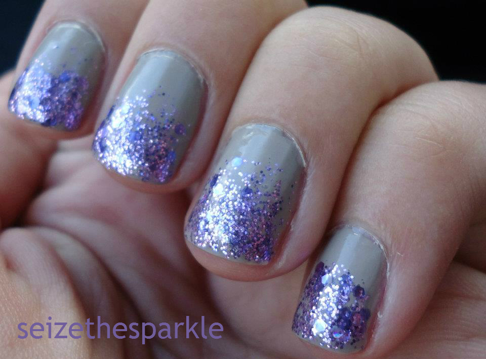 SOPI Sugarplum Faeries Gone Wild, Revlon Bare Bones