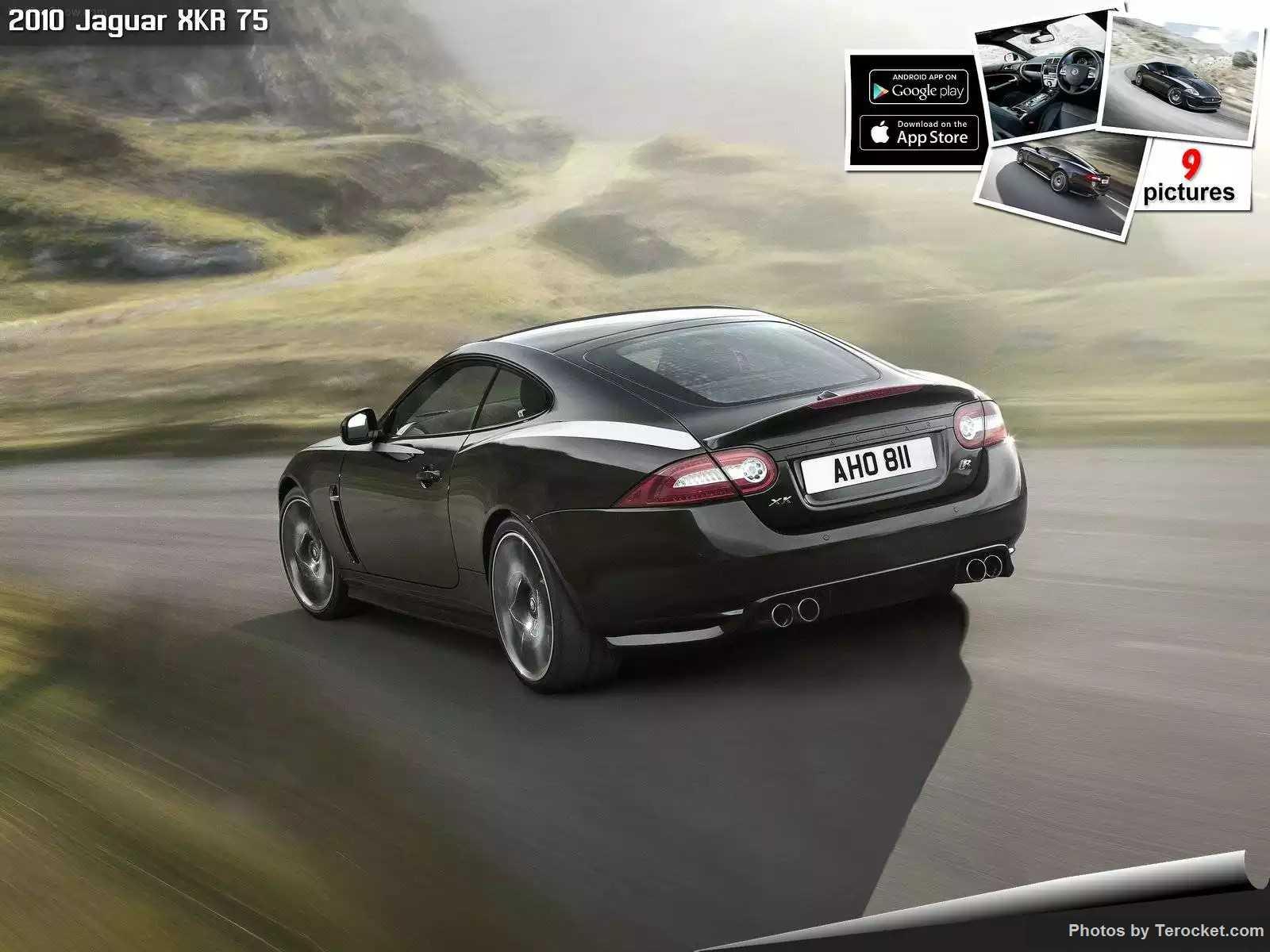 Hình ảnh xe ô tô Jaguar XKR 75 2010 & nội ngoại thất