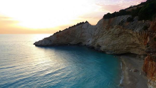Porto Katsiki Traumstrand auf der griechischen Insel Lefkada