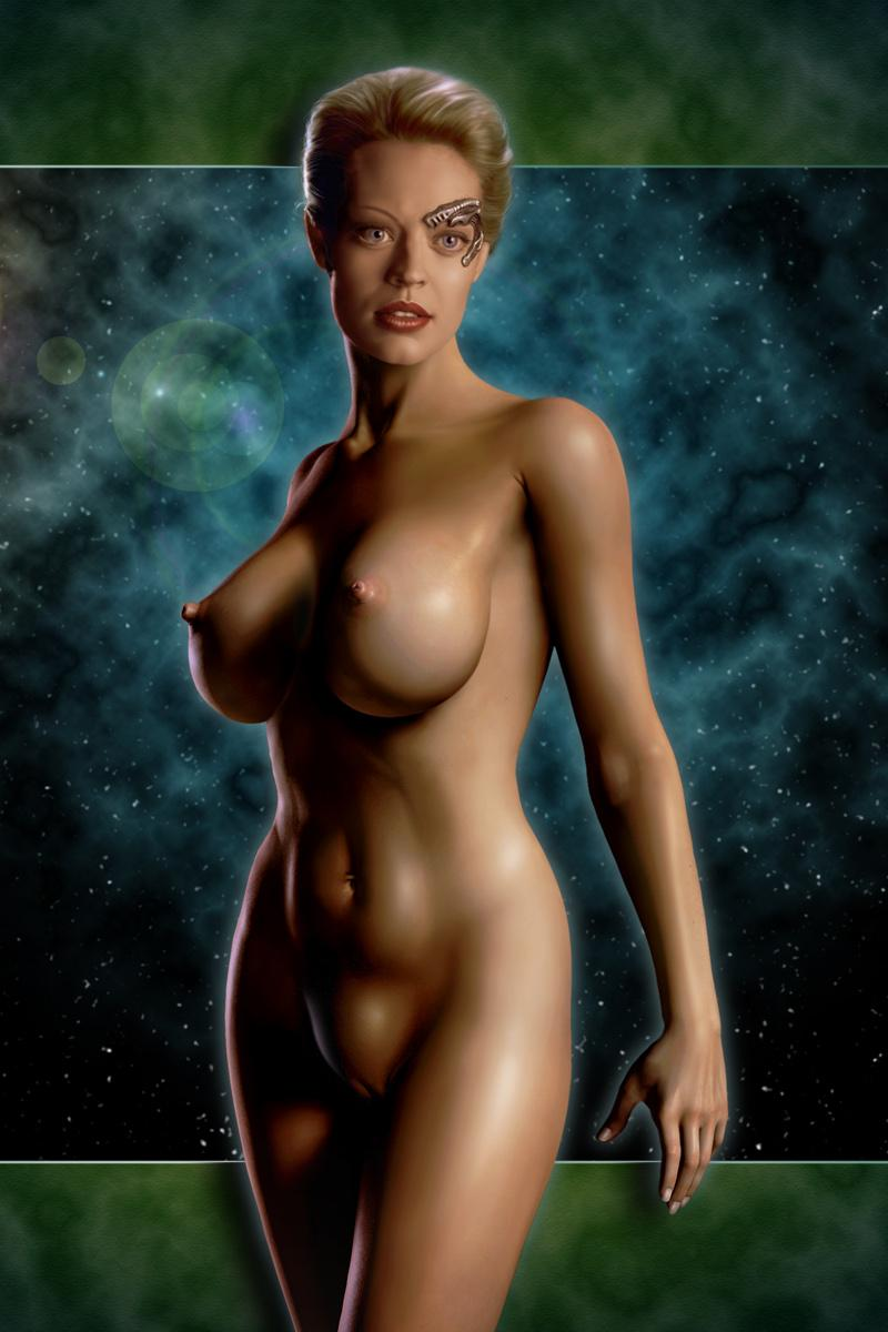Rare Star trek seven of nine porno valuable