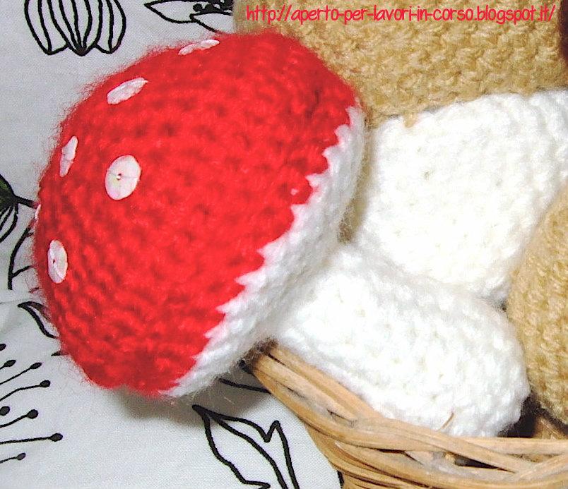 Il blog di Laura: Funghi amigurumi parte 1:istruzioni ...