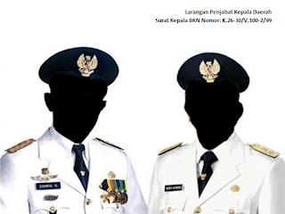 Larangan Penjabat Kepala Daerah Untuk Memutasi Pegawai