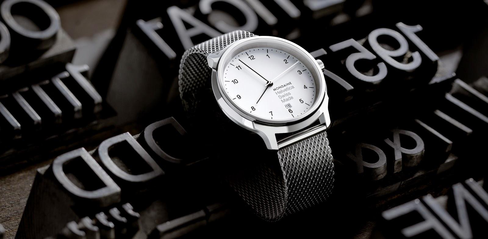 Mondaine aposta em relógios com a fonte Helvetica… ou não fosse tudo suíço