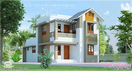 Cute villa exterior