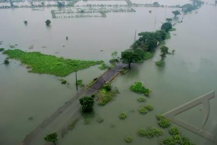 Banjir, Ribuan Warga Masih Mengungsi di Jawa Tengah