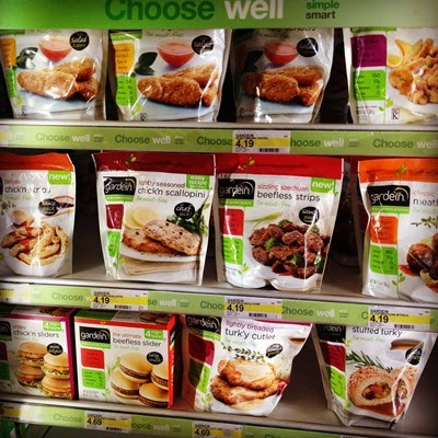 Vegan Vegetarian Food Protein Groceries Gardein Mock Meats