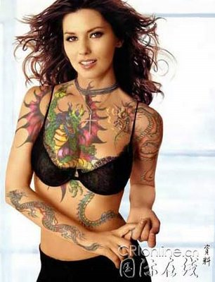 sexy tattoos for women. Sexy girl popular tattoo in