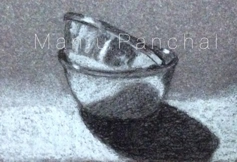 thumbnail sketch of still life by manju panchal