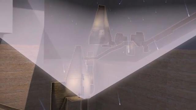 Images 3D révolutionnaire montrent des tunnels cachés dont l'intérieur assez profond abrite des pyr