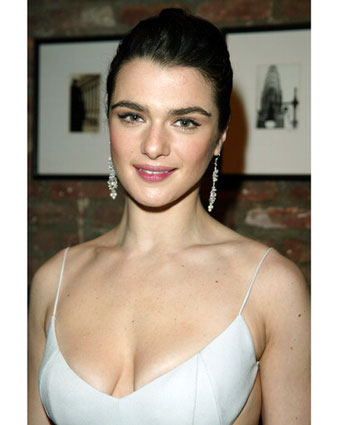 rachel weisz hairstyles. tattoo Weisz from