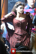 ComJennaLouise Coleman · ContactMusic.comMatt Smith (jenna louise coleman filming the bbc christmas )